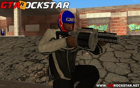 Mod Lançador de Granada (GTA V Grenade Launcher) para GTA San Andreas Mod Lançador de Granada para GTA SA Mod granada GTA V Grenade Launcher for GTA SA