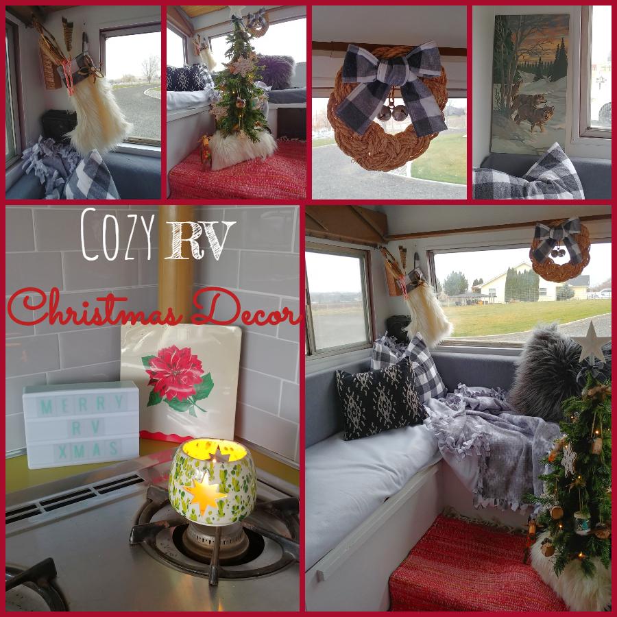 Cozy RV Christmas Tour