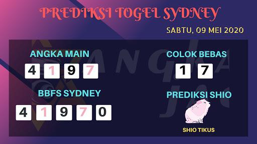 Prediksi Sydney 09 Mei 2020 - Prediksi Angka Sidney
