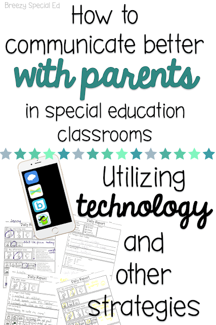 Communicate better with parents by using technology and other strategies - for the special education teacher