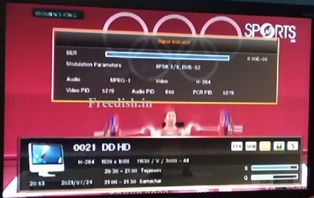 DD Sports HD, a Brand New HD Channel for Tokyo Olympics 2021