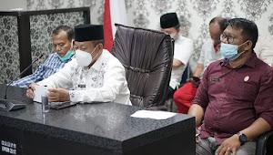 Wakil Walikota Tanjungbalai Ikuti Rakor Virtual dengan Gubsu