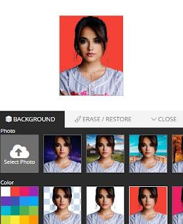 Cara Merubah Background Foto Di HP Dengan Removebg