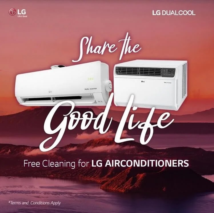 #TeamLG provided free air-conditioner cleaning services to the affected residents of the Taal Ash Fall