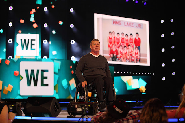 WE Day Family 2016 Toronto - Rick Hansen