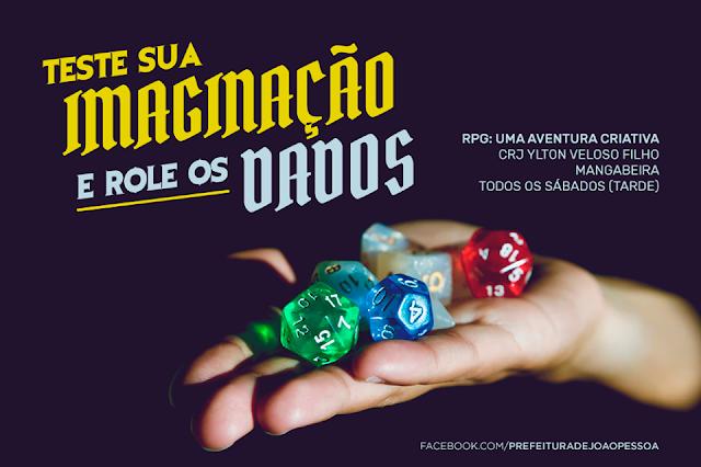 Prefeitura de João Pessoa apoia projeto de RPG