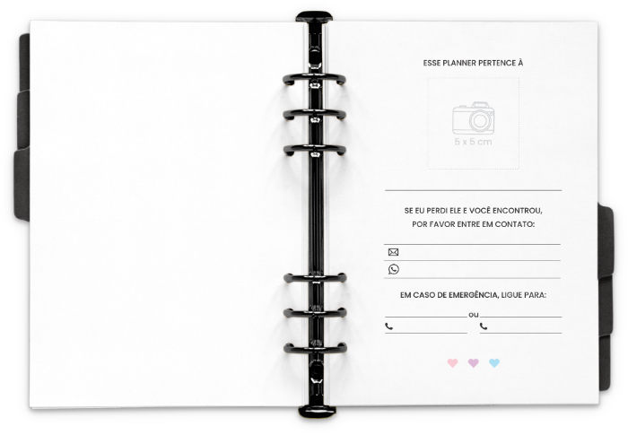 Planner 2021 para imprimir