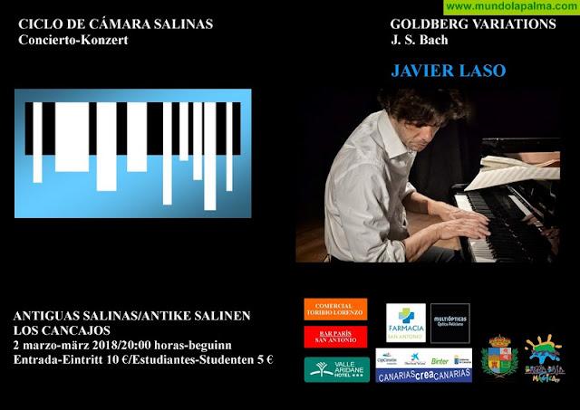"""SALINAS: Concierto """"Variaciones Goldberg"""""""