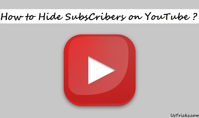 hide subscribers youtube