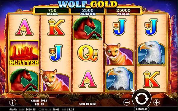 Main Gratis Slot Indonesia - Wolf Gold (Pragmatic Play)
