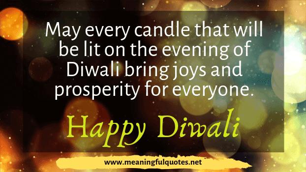 Diwali greeting messages English