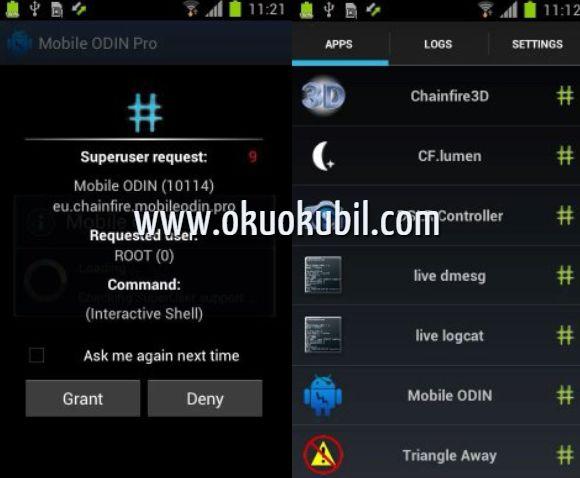Androıd Telefonlar İçin SuperSU Pro v2.82 Kök İzinleri İndir