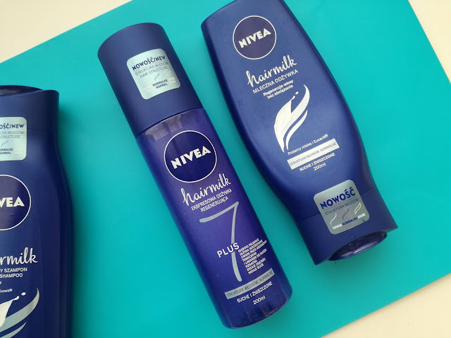 nivea hair milk