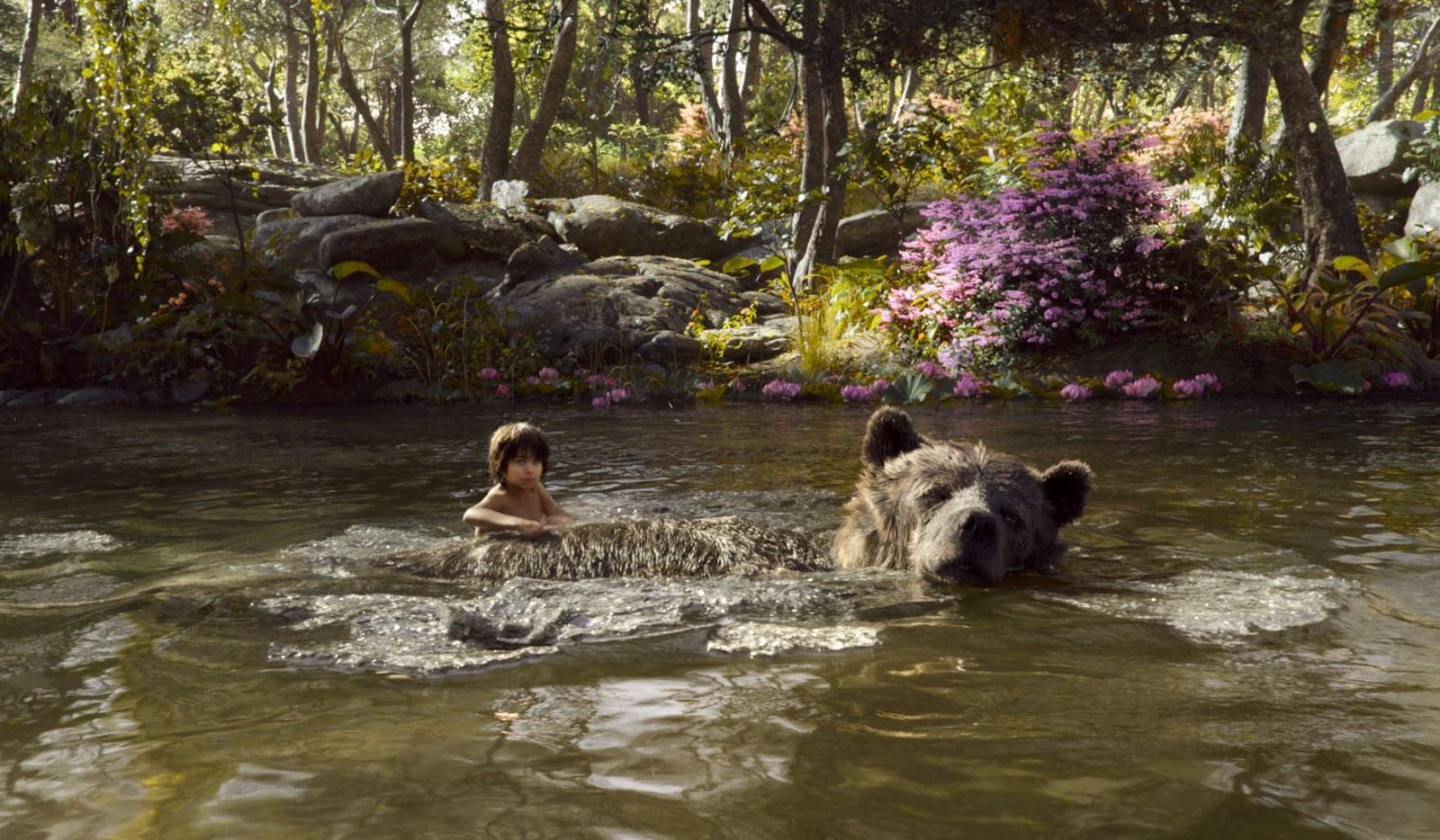 Baloo y Mowgli