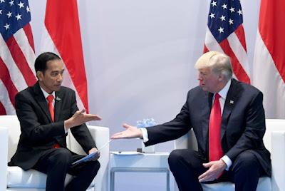 Jokowi Mengundang Donald Trump Datang ke Indonesia