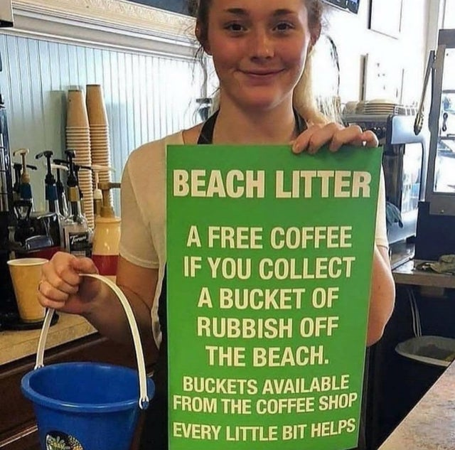 This coffee shop is fighting to stop littering