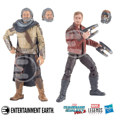 "Guardians of the Galaxy Vol. 2 Star-Lord & Ego Marvel Legends 6"" Action Figure 2 Pack"
