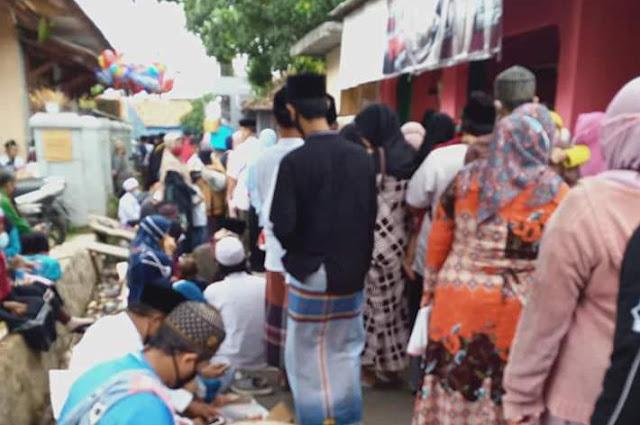 Ribuan Jamaah Hadiri Haul Tuan Guru Syeikh Abdul Qodir Jaelani di Pasar Kemis