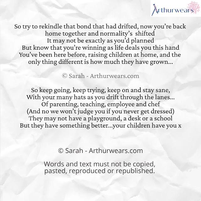 a homechool poem the benefits of homeschool