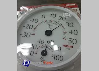 Darmatek Jual Sanwa TH-10 Thermohygrometer Analog