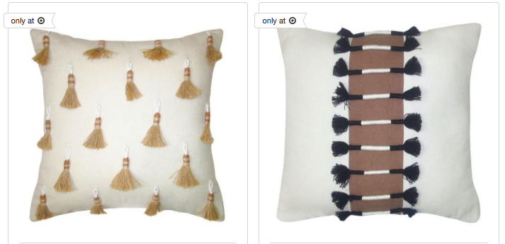 Target Addict Sale Alert Nate Berkus Throw Pillows Interesting Nate Berkus Decorative Pillows