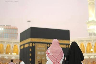 suami istri di mekkah