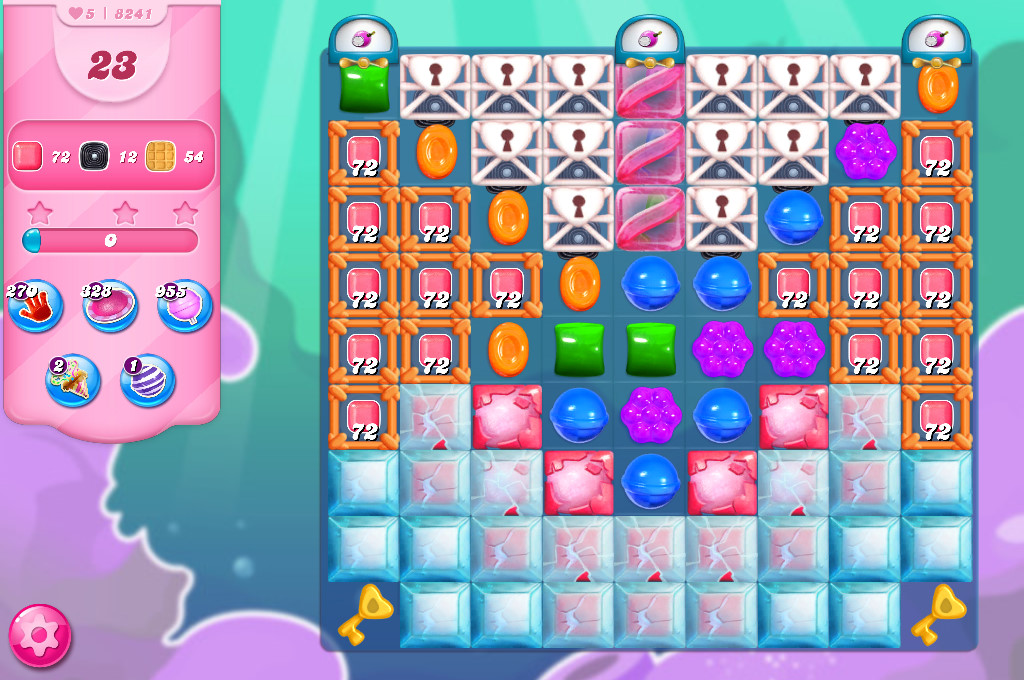 Candy Crush Saga level 8241