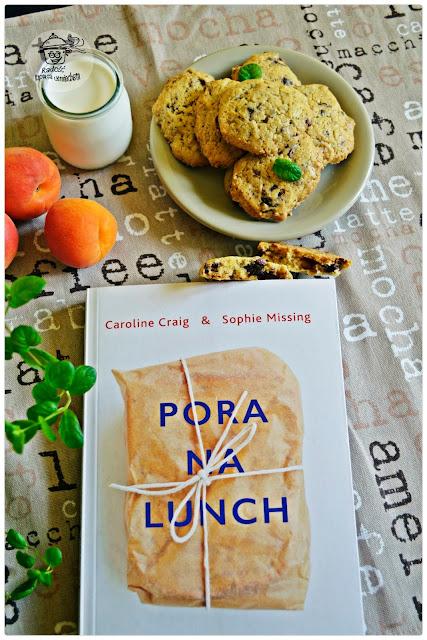 Ciasteczka z kawałkami czekolady i recenzja ksiażki - Pora na lunch.