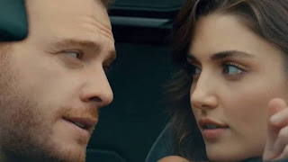 Hande Ercel and Kerem Bursin are living together in a mansion.