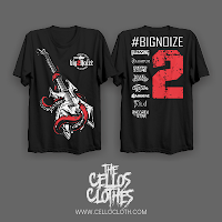 Desain Sablon Kaos Parade Band Big Noize 2