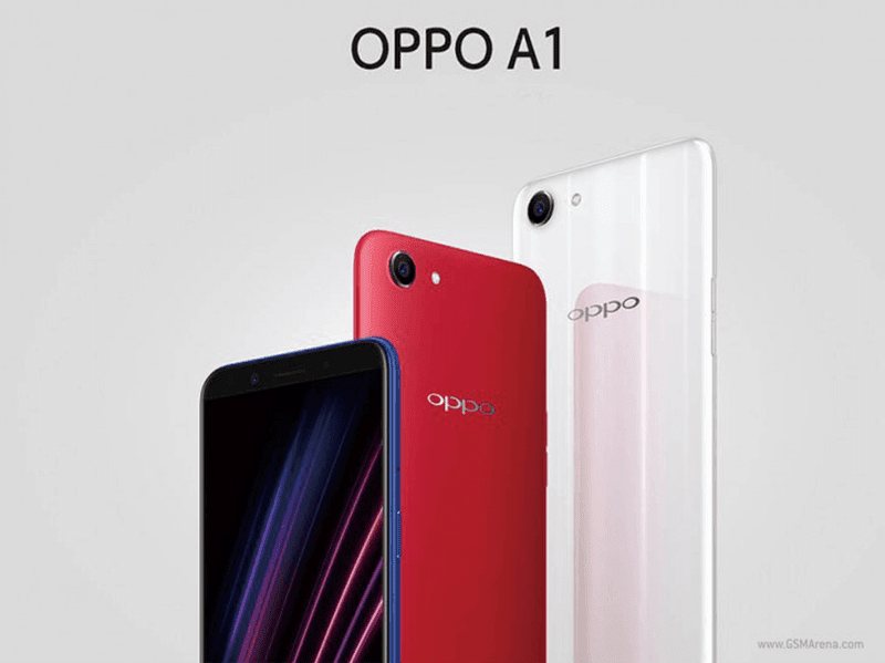 OPPO released the A1 smartphone in China