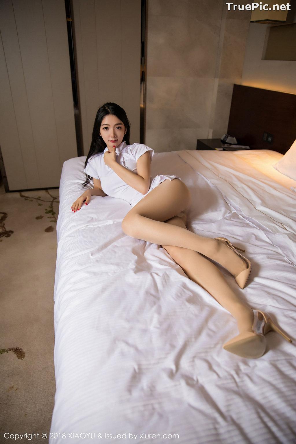 Image XiaoYu No.004 - Chinese Model - Xiao Reba (Angela喜欢猫) - White Sexy Nurse - TruePic.net - Picture-22