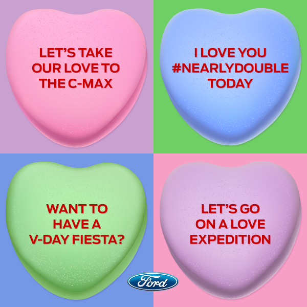 Ways to Treat Your S.O., Your Self, and Your Ford for Valentine's Day