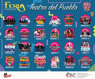 cartel teatro del pueblo fenapo 2019