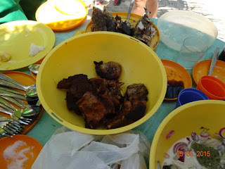 Delicious lunch at Kalanggaman Island, Palompon, Leyte
