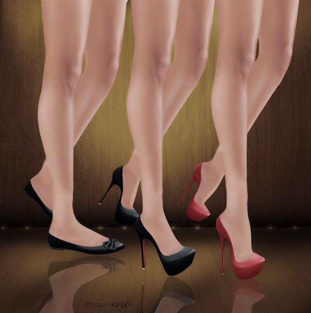 ee8b2b5e4 Flat feet  N-core FLAT Feet (Rigged Mesh) ( N-core