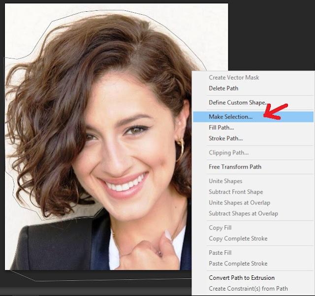Cara Seleksi Rambut dengan Hasil Detail di Photoshop