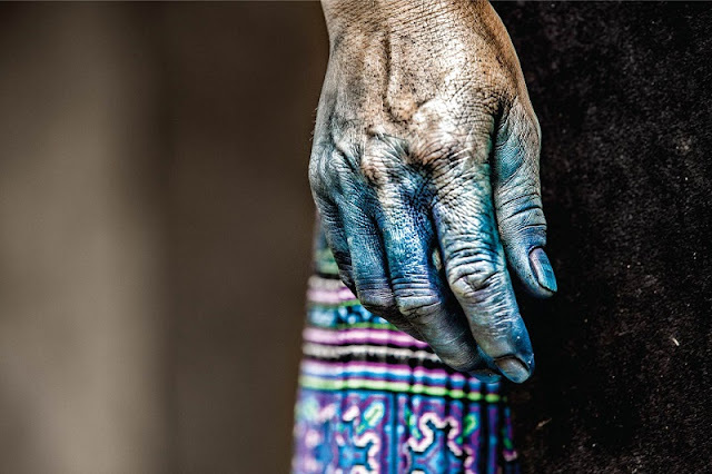 Fashionable Adventures With Indigo Dye Technology Of Hmong People In Sapa, Vietnam 1