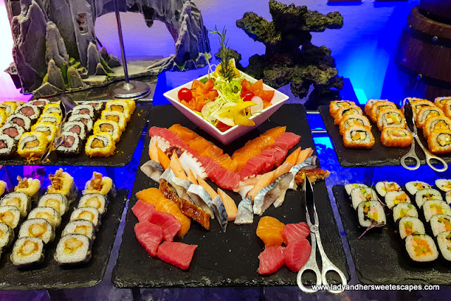 sushi in Mercure Barsha Heights