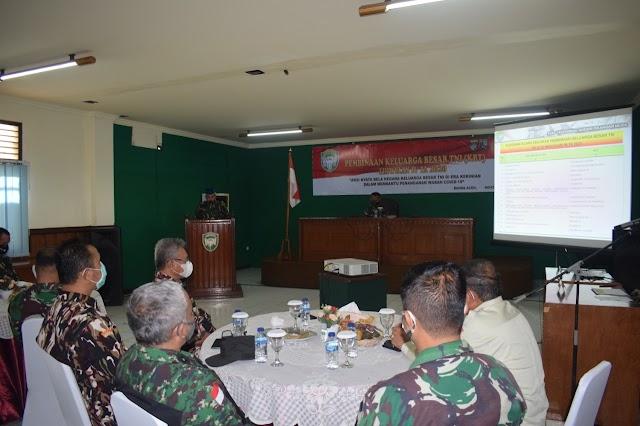 Tingkatkan Kesadaran Bela Negara, Kodam IM Gelar Pembinaan bagi Organisasi Keluarga Besar TNI