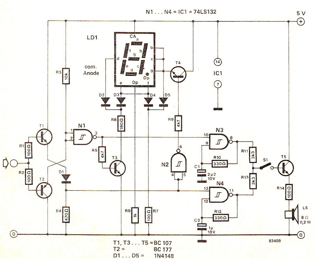 Musical Doorbell Schematic 3660040649 Gwqsdrzo Circuit Diagram Electronic Images Sc 1 St Readingratnet