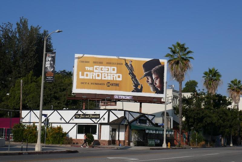 Good Lord Bird Showtime billboard