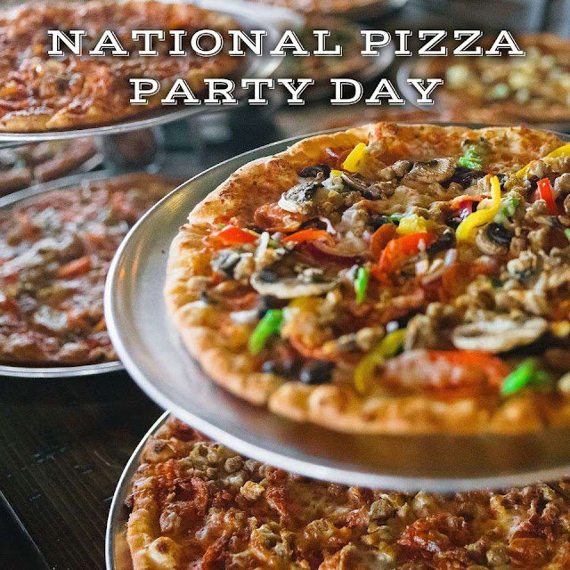 National Pizza Party Day Wishes for Instagram