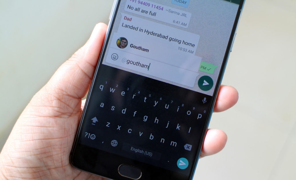 Finally WhatsApp Gets Mentions Feature For Group Chats