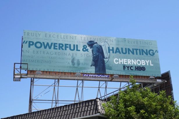 Chernobyl HBO Emmy consideration billboard