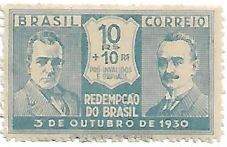 Selo Redempção do Brasil 10