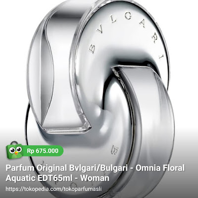 toko parfum asli parfum original bvlgari omnia floral aquatic edt 65ml woman