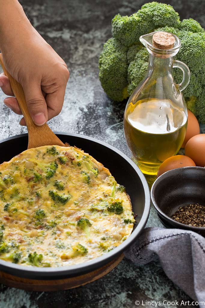 Broccoli Omelette recipe