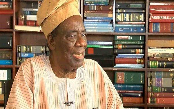 Former Nigeria's Attorney-General, Richard Akinjide dies