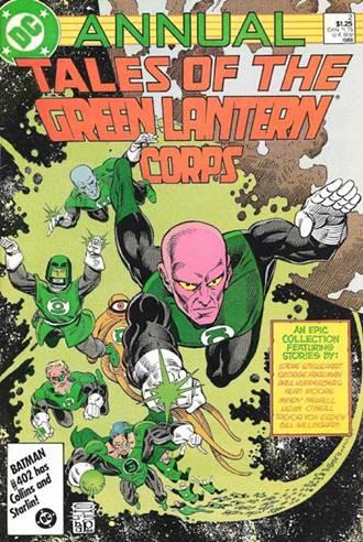 Alan Moore escribió varias historias de Green Lantern en DC
